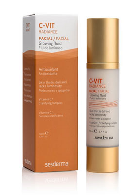 C-VIT RADIANCE Glowing Fluid SesDerma