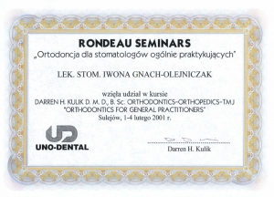 ORTHODONTICS FOR GENERAL PRACTITIONERS