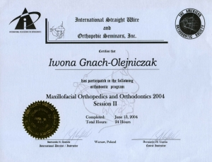 Maxillofacial Orthopedics and Orthodontics 2004