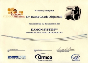 DAMON SYSTEM PASSIVE SELF-LIGATING ORTHODONTICS